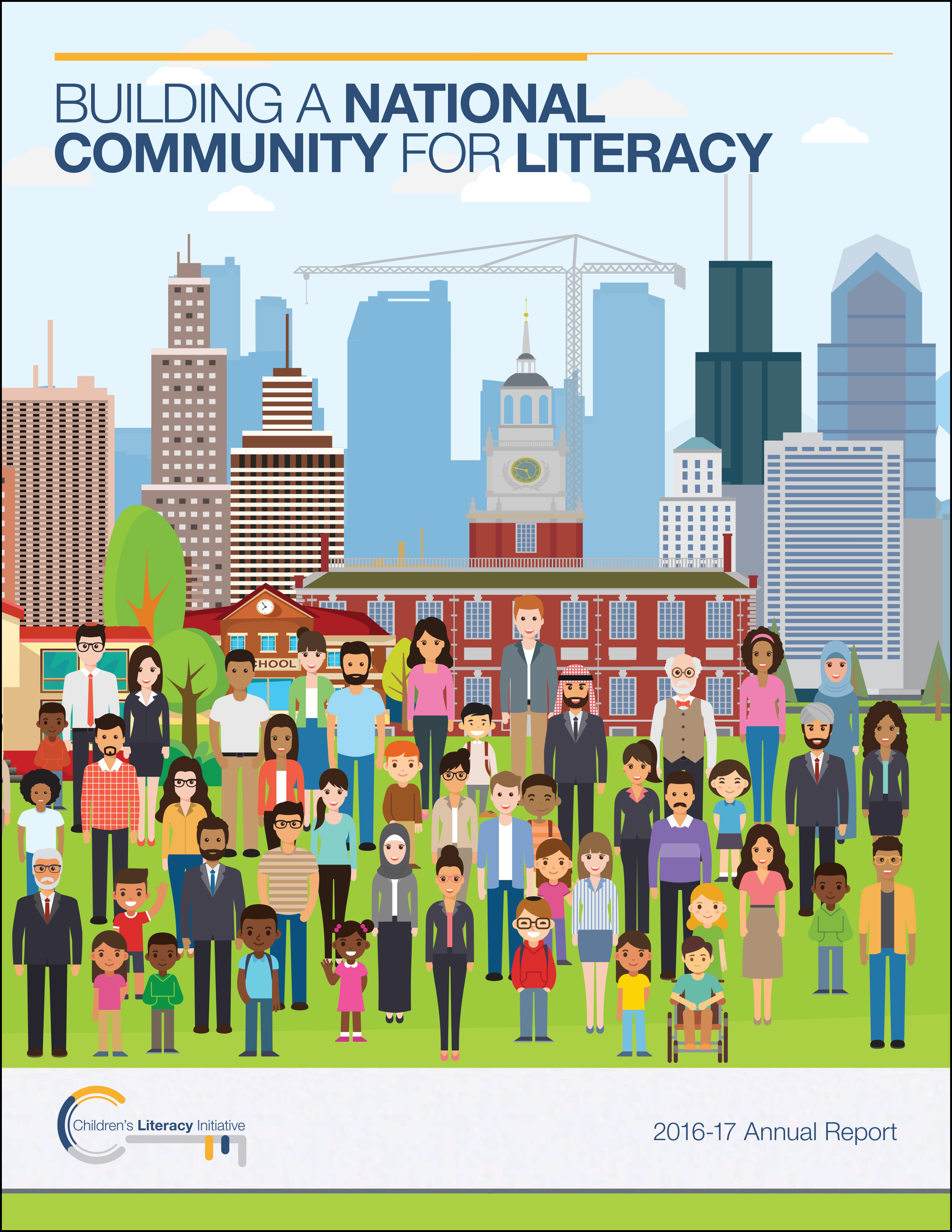 Building a National Community for Literacy, Annual Report 2017
