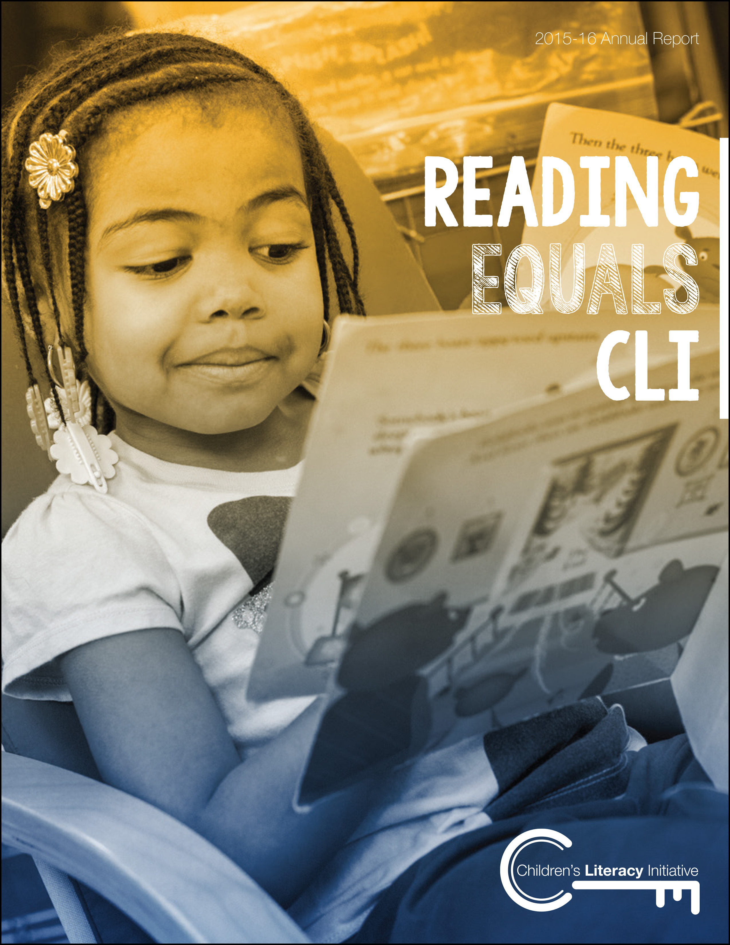 Reading Equals CLI, Annual Report 2016