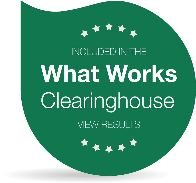 Methods Included in the What Works Clearinghouse